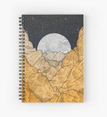 Copper Mounts  Spiral Notebook