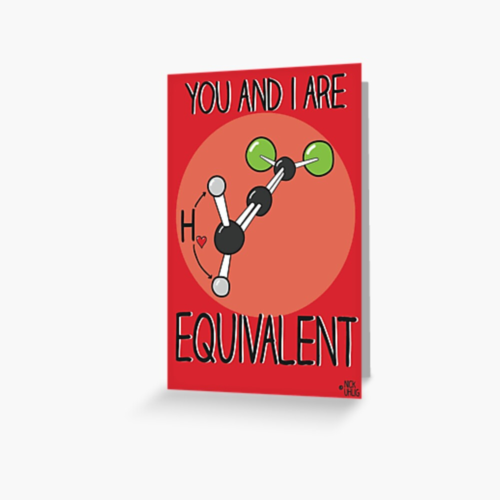 Equivalent Greeting Card