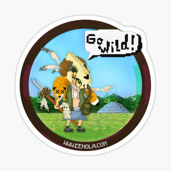 Eenola - Go Wild! (round) Sticker