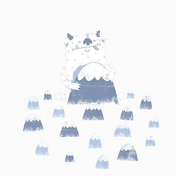 Adorable Abominable by boneydesign
