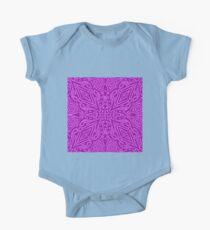 Purple Vector One Piece - Short Sleeve