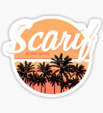 Scarif Big Wave Surfing Sticker