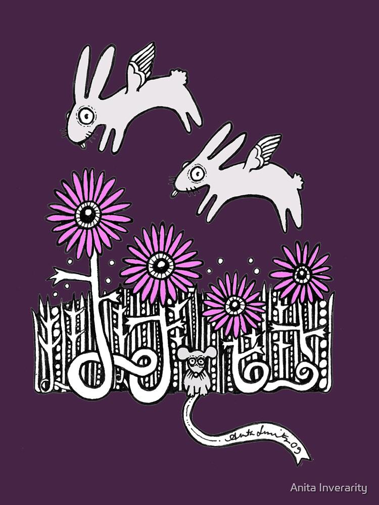 Bunny Dreams Tee by AnitaInverarity