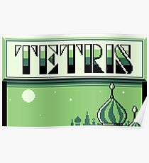 Tetris (GB Title Screen) Poster