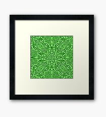 Green Vector Framed Print
