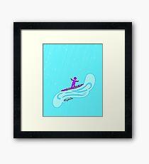 RightOn Surf  Framed Print