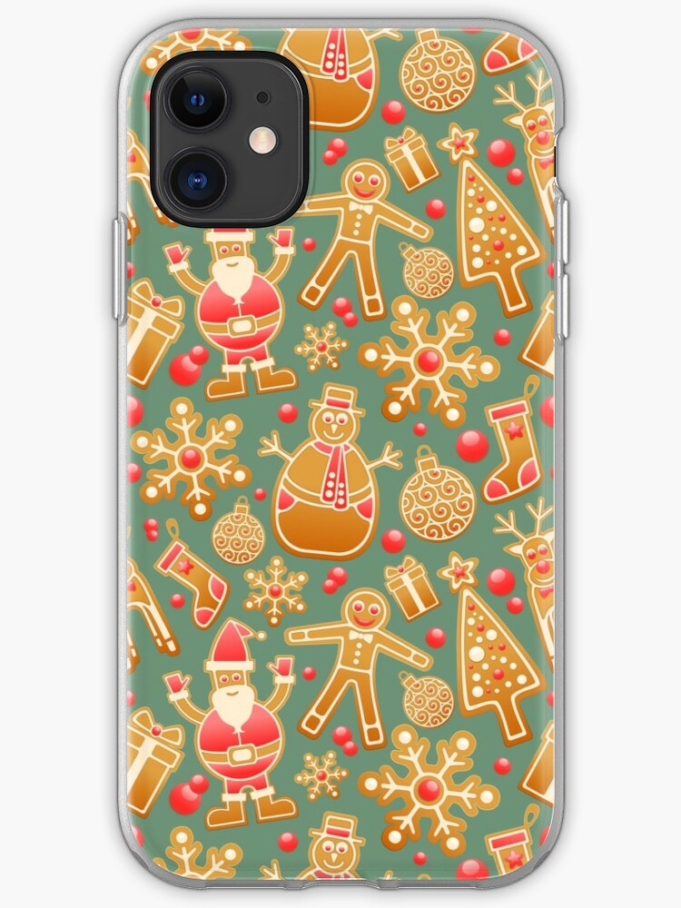 Christmas Santa Claus Pattern iphone case