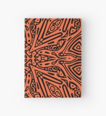 Orange & Black Vector Hardcover Journal