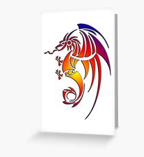 Dragissous V1 dragon Greeting Card
