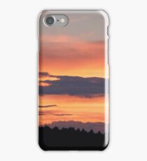 Roan Mountain Orange iPhone Case/Skin