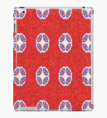 A lot of red abstract pattern iPad Case/Skin