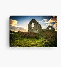Hen Eglwys also known as capel Mair. Canvas Print