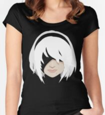 Yorha 2B Women's Fitted Scoop T-Shirt