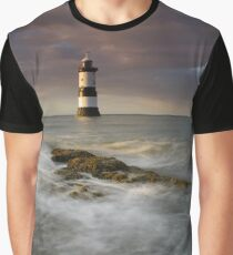Penmon Lighthouse Graphic T-Shirt