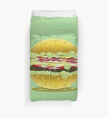 Hamburger Love Duvet Cover
