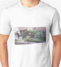 Passignano sul Trasimeno - Umbria, Italy- Italian landscape, italian house, red bricks. italian garden Unisex T-Shirt