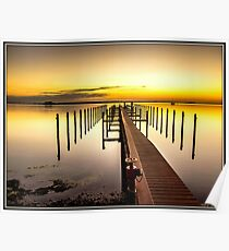 Beso del Sol Sunset Poster