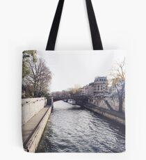 Paris Scenery Tote Bag