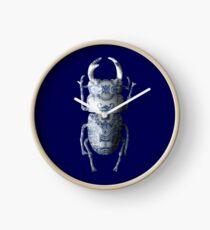 Delft Blue Beetle Bug Clock