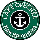 LAKE OPECHEE NEW HAMPSHIRE NAUTICAL ANCHOR BOATING by MyHandmadeSigns