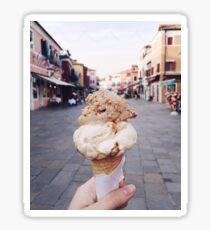 Gelato Icecream Sticker