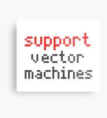 Support vector machines Metal Print
