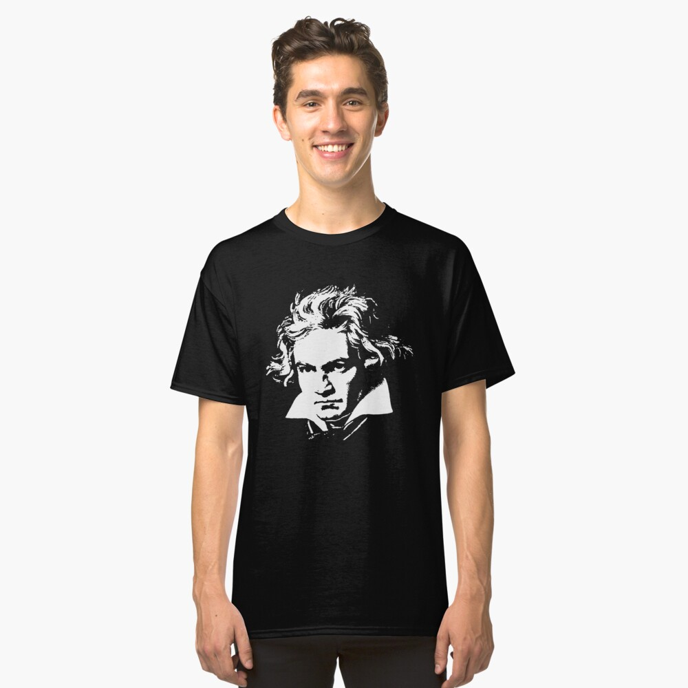 beethoven Classic T-Shirt Front