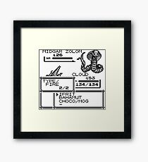 Cloud VS Midgar Zolom Framed Print