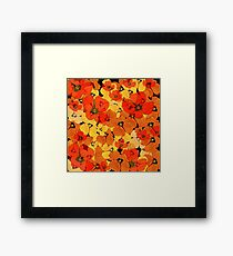 florels in depth Framed Print