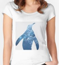 Ice Penguin Women's Fitted Scoop T-Shirt