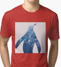 Ice Penguin Tri-blend T-Shirt