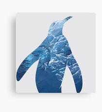Ice Penguin Canvas Print