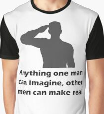 Army Men Are Best Graphic T-Shirt