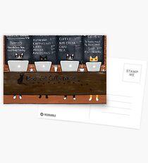 Black Cat Coffeehouse Postcards