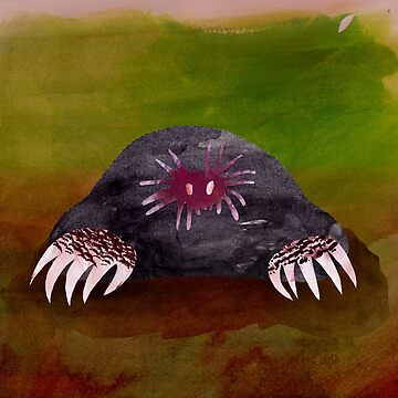 Star Nosed Mole by CannedKitty