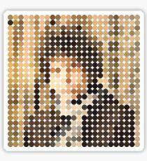Bob Dylan, Blonde On Blonde, Benday Dots Sticker