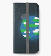 The Earth And Sun iPhone Wallet