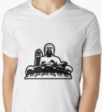 Camiseta de cuello en V Buda