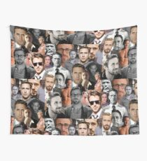Ryan Gosling Collage Wall Tapestry