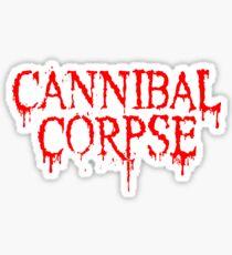 Cannibal Corpse Logo Sticker