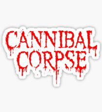 Cannibal Corpse Logo Sticker