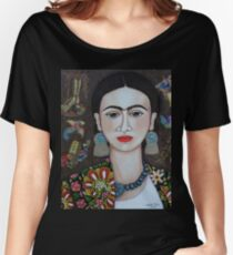 Frida thoughts  Women's Relaxed Fit T-Shirt