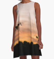 Sunset in the Valley A-Line Dress