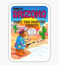 Arizona Painted Desert AZ United States of ALF Travel Decal Sticker