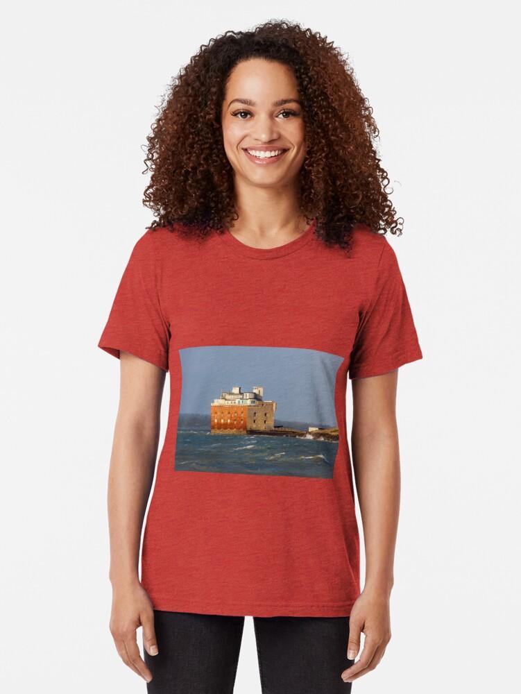 Alternate view of Fort Albert Tri-blend T-Shirt