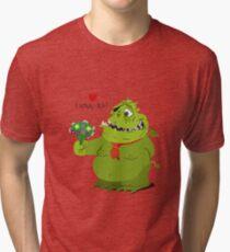 "Valentine's Day ""Sweet Monster"" Tri-blend T-Shirt"