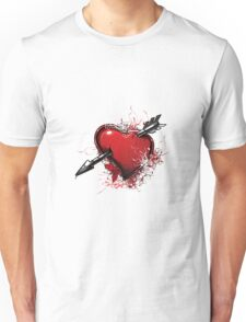 """Valentine´s Day """"Heart with arrow"""" Unisex T-Shirt"""