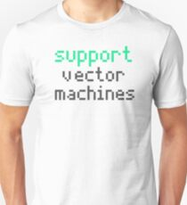 Support vector machines (green) Unisex T-Shirt