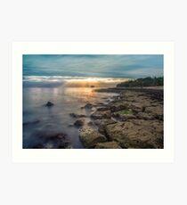 Bembridge Beach Sunrise Art Print