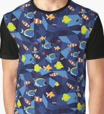 Vector Fish Graphic T-Shirt
